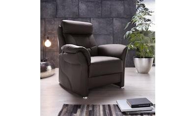 Places of Style Sessel »Lagomera«, mit Kopfteilverstellung kaufen