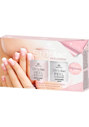 "alessandro international UV - Nagellack - Set ""Striplac Peel or Soak Babyboomer Set"" kaufen"
