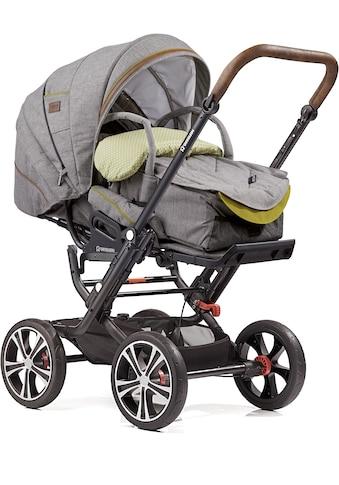 Gesslein Kombi-Kinderwagen »F10 Air+, schwarz/tabak mit Tragetasche C1 Lift, stein... kaufen