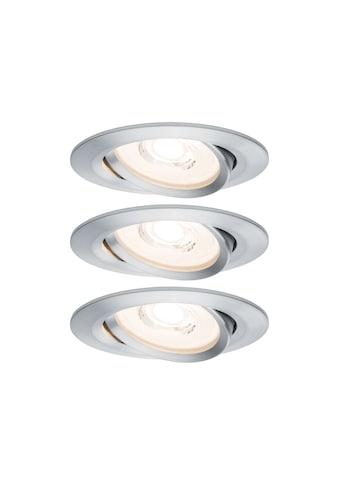 Paulmann LED Einbaustrahler »dimmbar IP23 Alu 6,8W Reflector Coin schwenkbar Reflector... kaufen