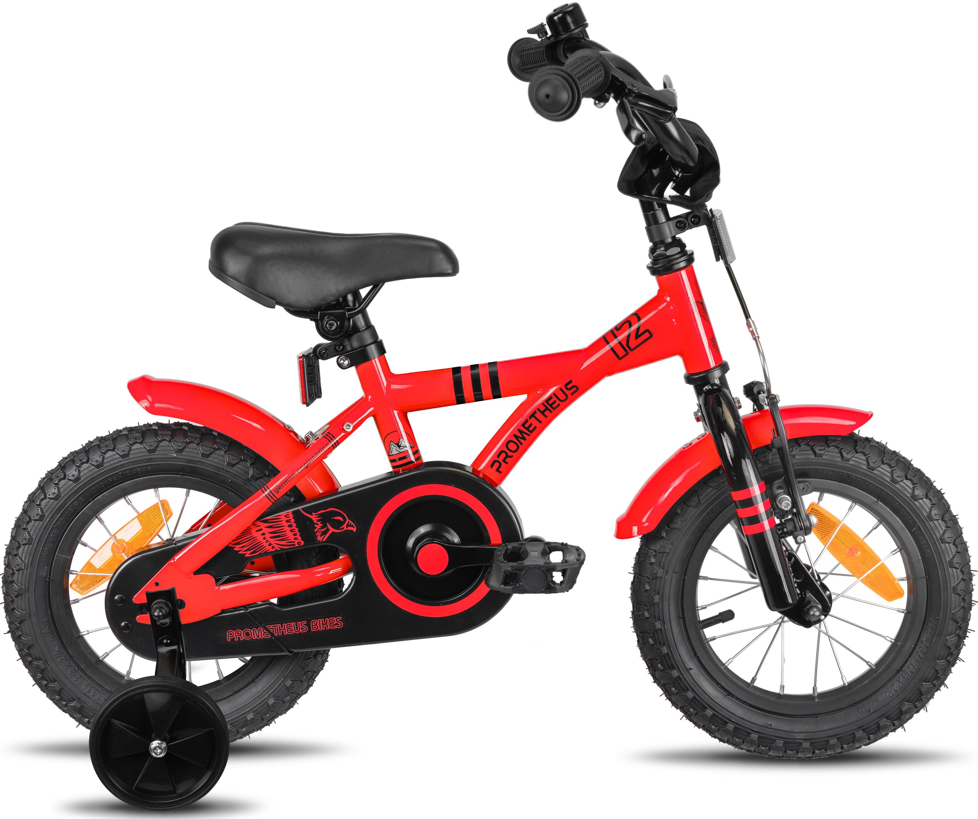 PROMETHEUS BICYCLES Kinderfahrrad Hawk rot Kinder Kinderfahrräder Fahrräder Zubehör Fahrrad