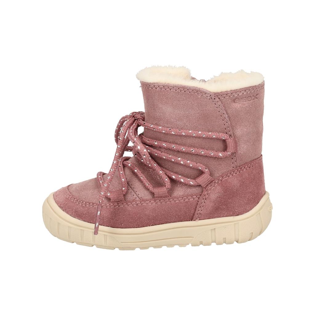 Geox Snowboots »Veloursleder/Textil«