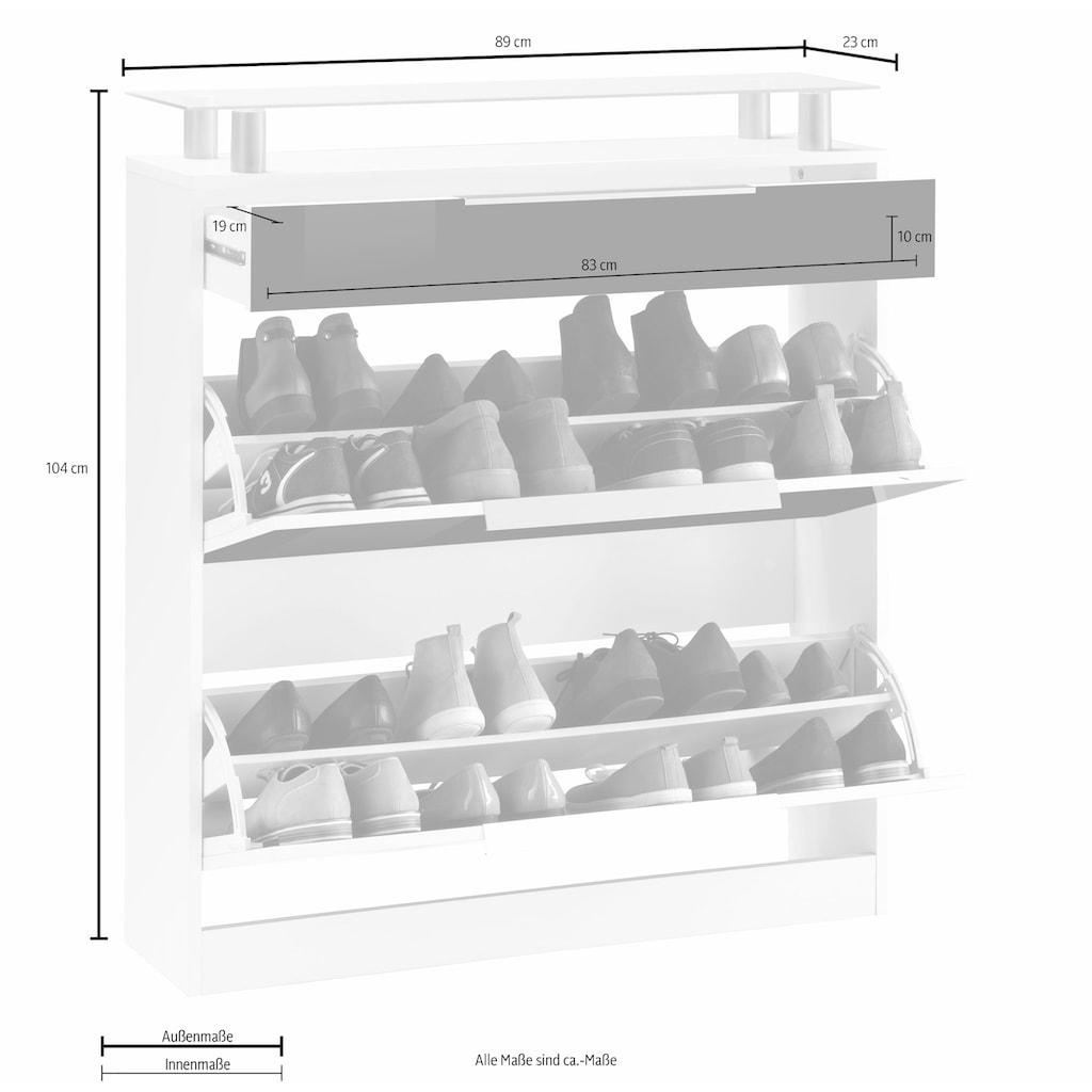 borchardt Möbel Schuhschrank »Oliva«, Breite 89 cm, stehend
