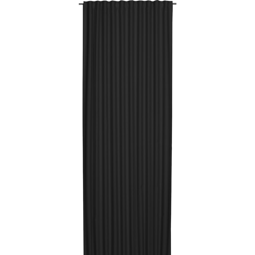 ELBERSDRUCKE Gardine »Midnight«, Ösenschal, 255x140 cm