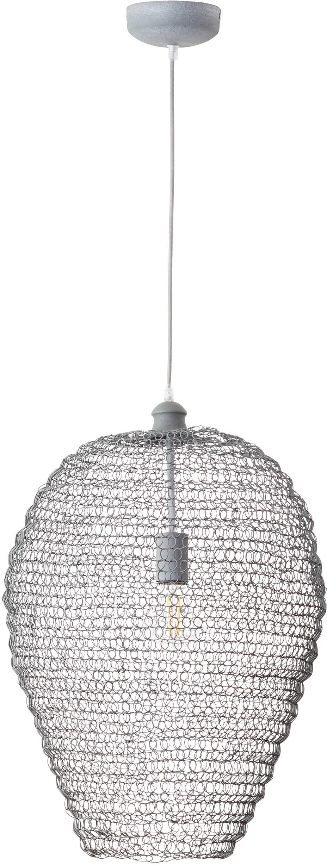 Brilliant Leuchten Pendelleuchte Maze, E27, 1 St., Warmweiß, Hängeleuchte, In der Höhe einstellbar / Kabel kürzbar