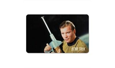 LOGOSHIRT Frühstücksbrettchen mit Captain Kirk-Motiv kaufen