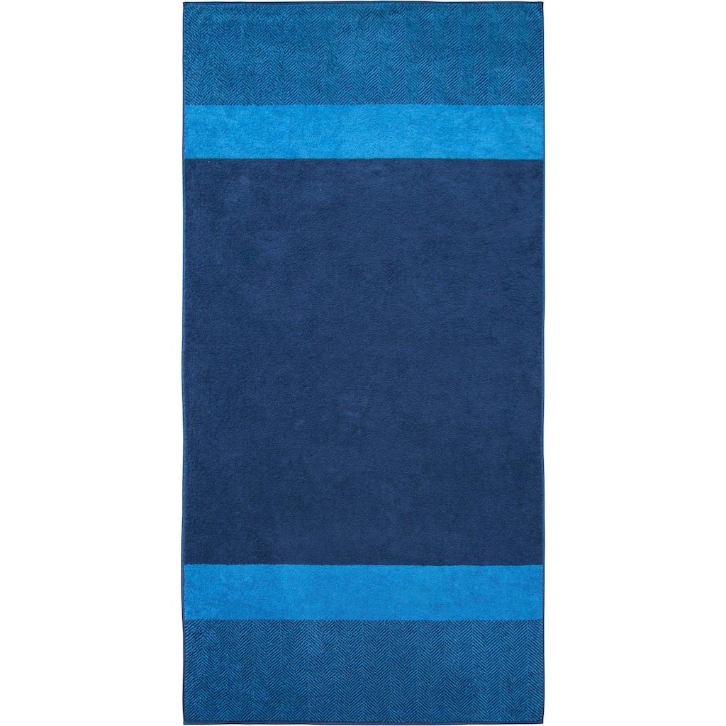 Dyckhoff Saunatuch »Two-Tone Stripe«, (1 St.)