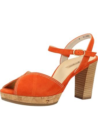 Paul Green High-Heel-Sandalette »Leder« kaufen