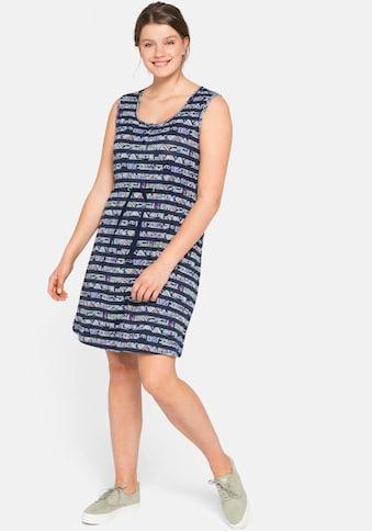Sheego Jerseykleid, mit Alloverdruck kaufen