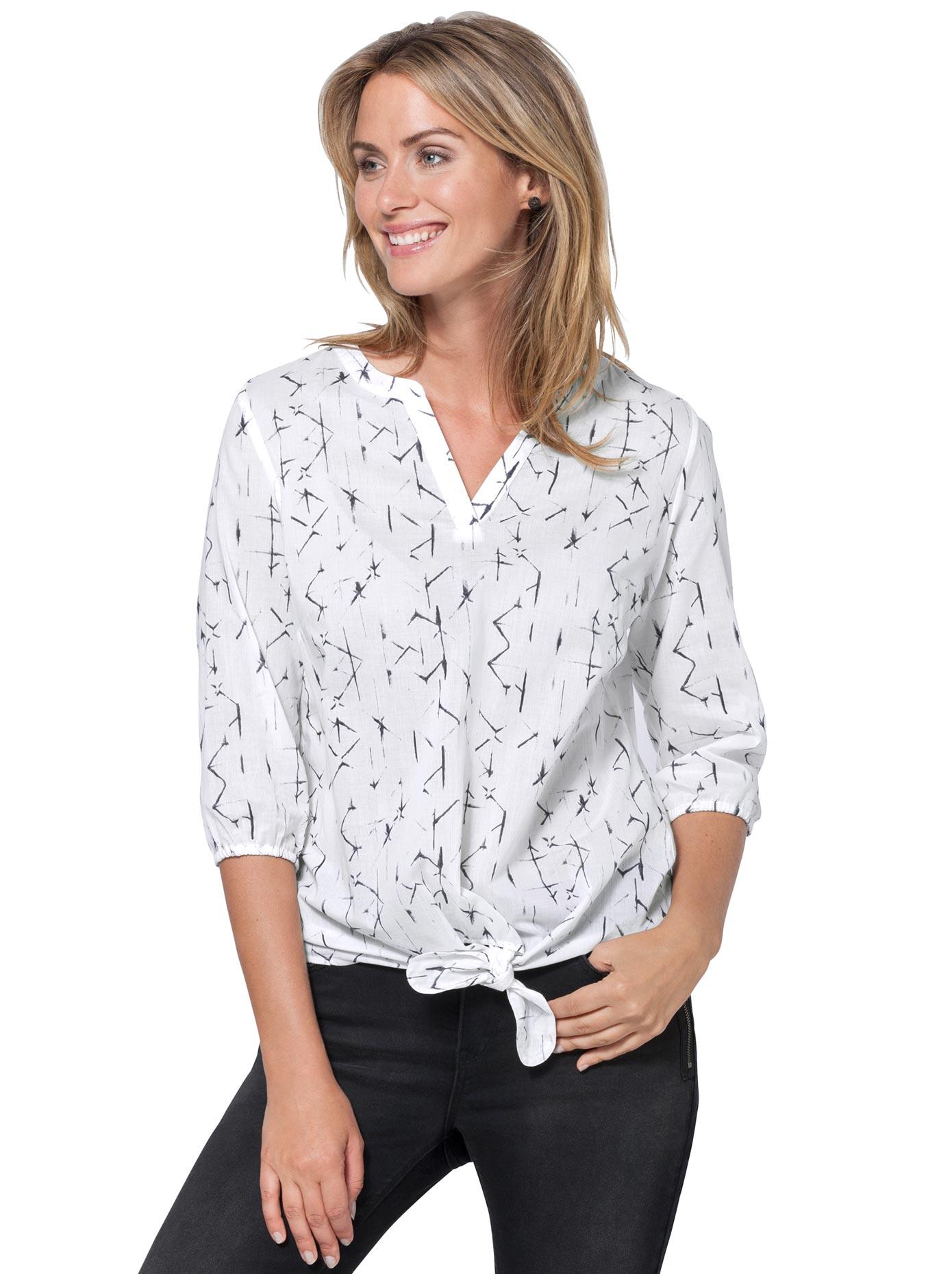 Ambria Bluse aus reiner Baumwolle