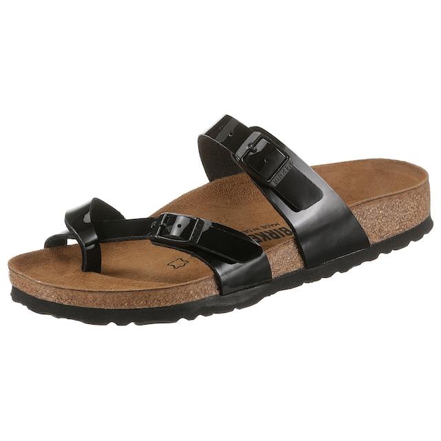 Birkenstock Pantolette »MAYARI«, in normaler Schuhweite