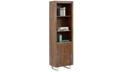 Home affaire Bücherregal »Lagos«, aus schönem massivem Kiefernholz, grifflos, Breite 55 cm kaufen