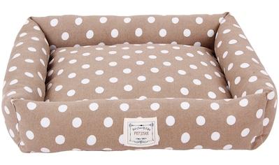 HEIM Hundebett und Katzenbett »Dots«, Pastellfarben, BxT: 52x58 cm kaufen