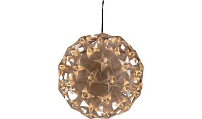 AM Design LED Dekolicht »Star«, Warmweiß, LED Kugel mit Sternen kaufen
