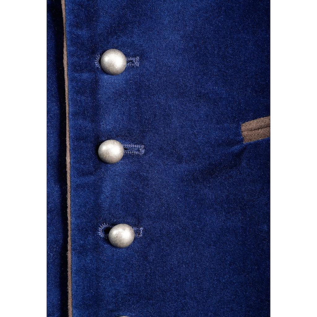 Trachtenweste, mit traditionellen Kugelknöpfen