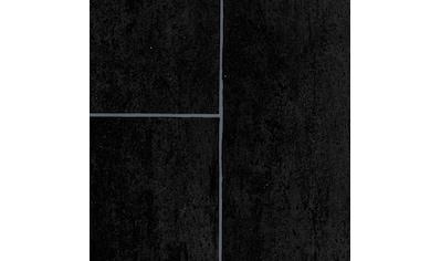 BODENMEISTER Packung: Vinylboden »PVC Bodenbelag anthrazit«, Meterware, Breite 200/300/400 cm kaufen