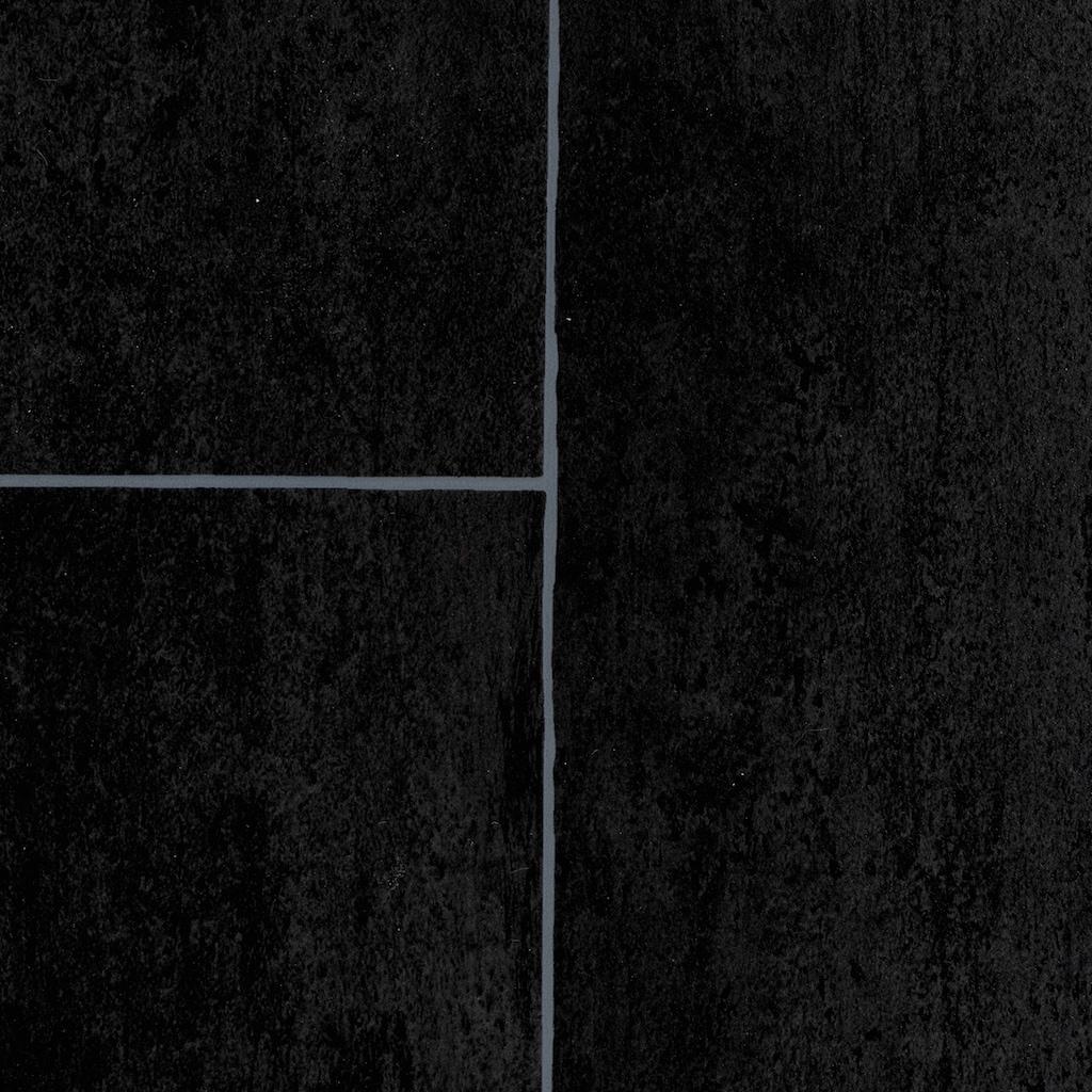 Bodenmeister Vinylboden »PVC Bodenbelag anthrazit«, Meterware, Breite 200/300/400 cm