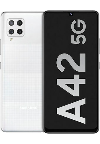 Samsung Galaxy A42 Smartphone (16,76 cm / 6,6 Zoll, 128 GB, 48 MP Kamera) kaufen
