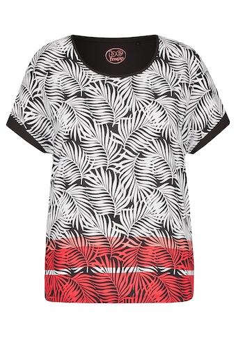 FRAPP Trendige Bluse mit gemusterter Vorderseite kaufen