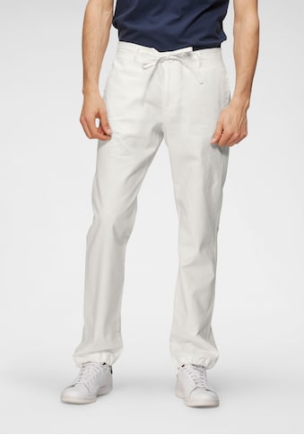 TOM TAILOR Polo Team Leinenhose, unifarben kaufen