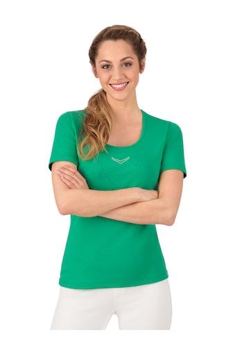 Trigema T - Shirt mit Swarovski® Kristallen kaufen