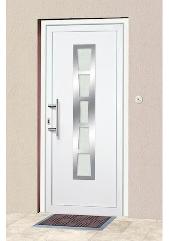 KM Zaun Haustür »K640«, nach Wunschmaß, Anschlag rechts oder links, mit Griffgarnitur kaufen