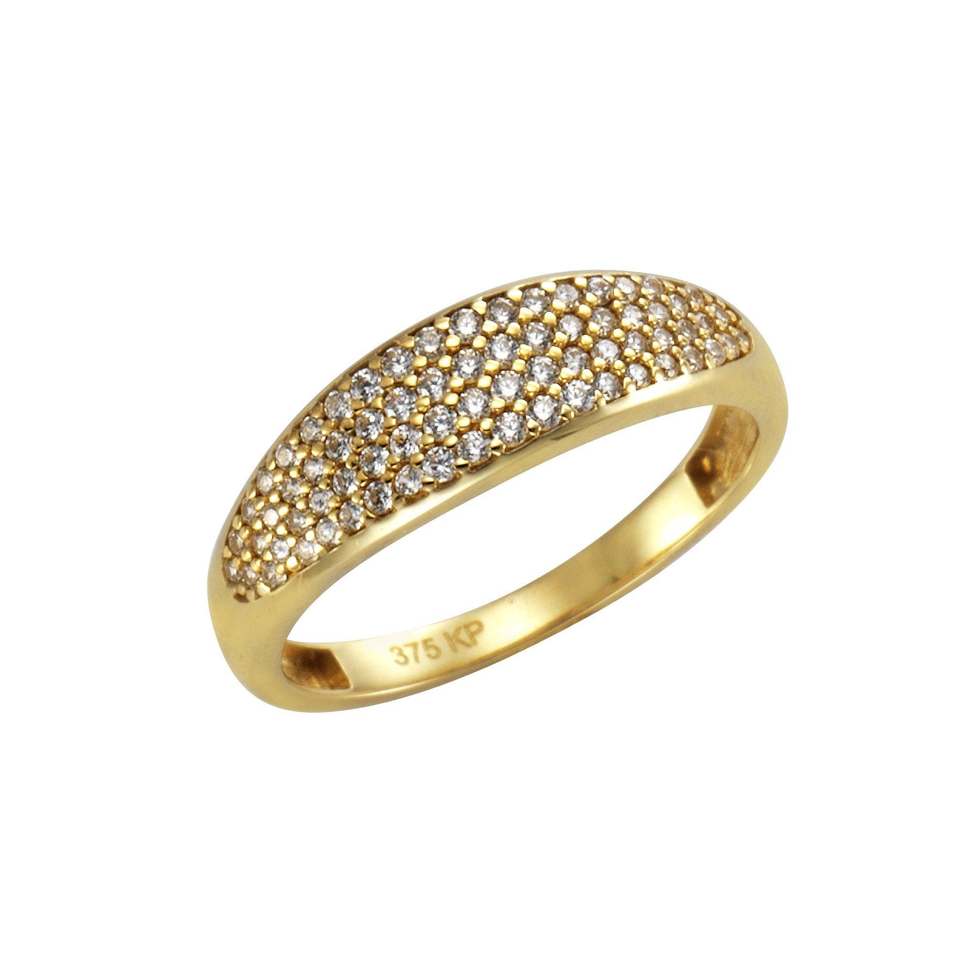 CELESTA Ring 375/- Gelbgold Zirkonia | Schmuck > Ringe | Gelb | Celesta
