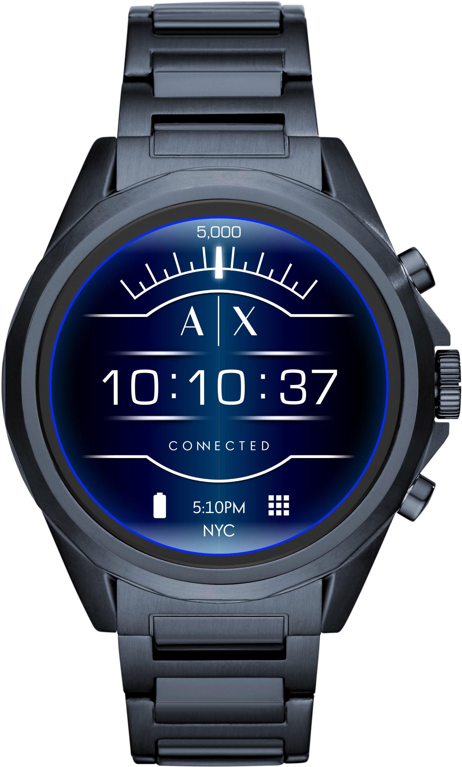 Armani Exchange Connected AXT2003 Smartwatch ( 14 Zoll Wear OS by Google) | Uhren > Smartwatches | Blau | Armani Exchange Connected