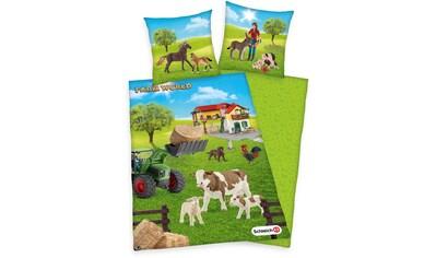 Schleich® Kinderbettwäsche »Schleich Farm World«, mit süßen Tieren kaufen