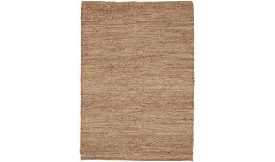 carpetfine Teppich »Nala«, rechteckig, 9 mm Höhe, Wendeteppich aus Jute, Wohnzimmer kaufen