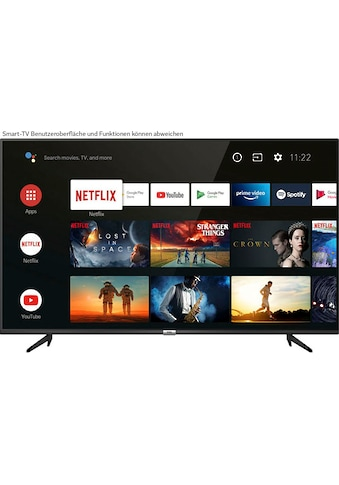 """TCL LED-Fernseher »65P616«, 164 cm/65 """", 4K Ultra HD, Smart-TV, Android 9.0... kaufen"""