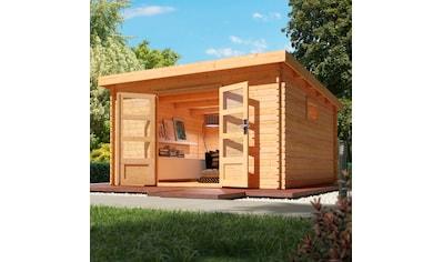 WOODFEELING Gartenhaus »Trittau 6«, BxT: 406x422 cm kaufen