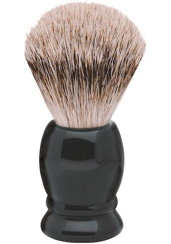 ERBE Rasierpinsel »XL«, Dachs-Zupfhaar, schwarzer Kunststoffgriff kaufen