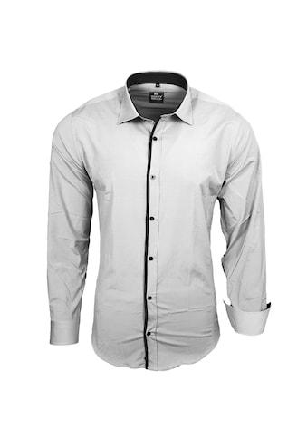 Rusty Neal Langarmhemd mit farbigem Akzent kaufen