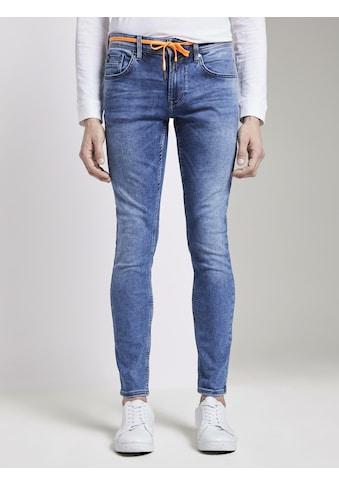 TOM TAILOR Denim Skinny - fit - Jeans »Culver Super Skinny Performance Stretch Effect« kaufen