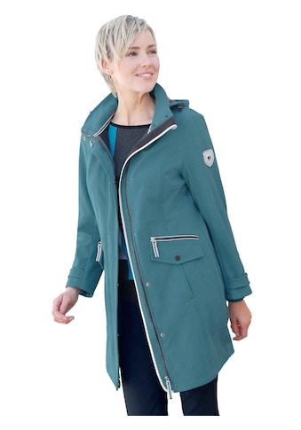 Casual Looks Softshelljacke mit Stehkragen kaufen