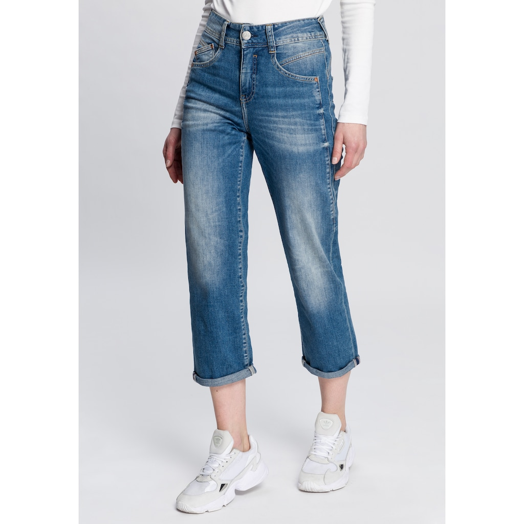 Herrlicher 7/8-Jeans »GILA HI TAP«, High-Waisted