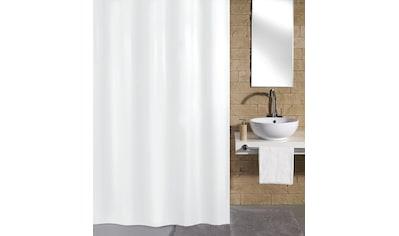 KLEINE WOLKE Duschvorhang »Schneeweiss«, Breite 180 cm kaufen