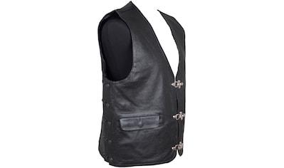 roleff Motorradweste »RO 212«, Leder, Polyester, 3 Taschen kaufen