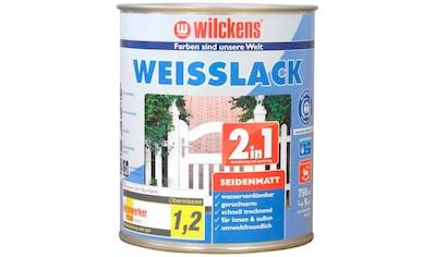 Wilckens Farben Weißlack »2in1 seidenmatt«, geeignet für Kinderspielzeug kaufen