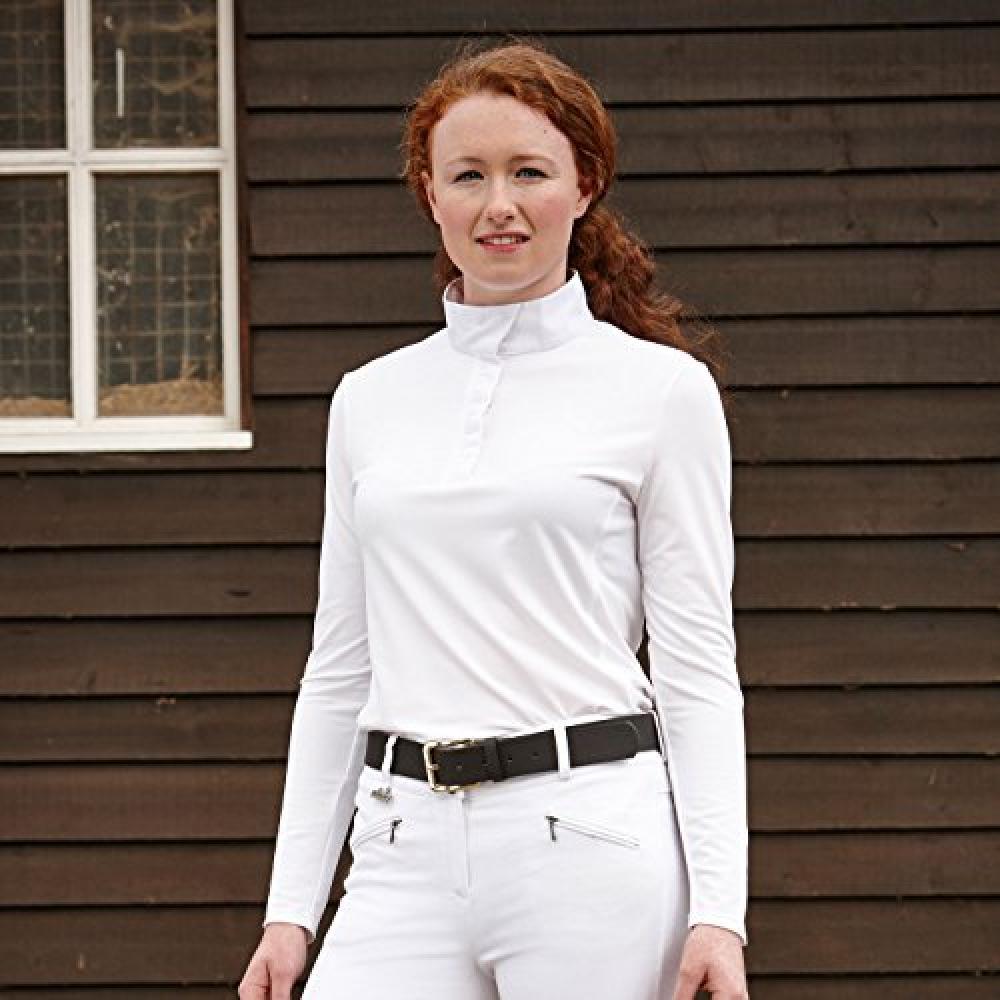 Dublin Langarmbluse Damen Paula Langarm Turnier Shirt