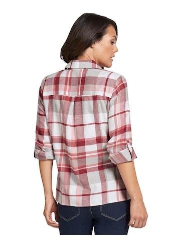 Casual Looks Bluse im lässigem Karodessin kaufen