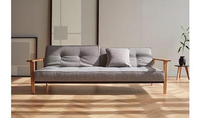 INNOVATION LIVING ™ Schlafsofa »Splitback«, mit Frej Arm in Eiche, in skandinavischen Design kaufen