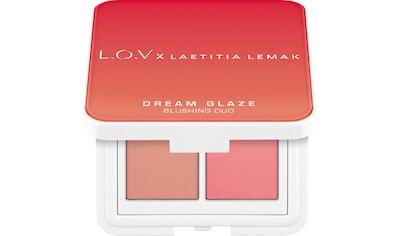 L.O.V Rouge-Palette »L.O.V x LAETITIA LEMAK DREAM GLAZE Blushing Duo« kaufen