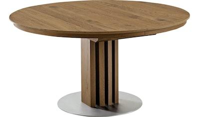 VENJAKOB Säulen-Esstisch »picasa«, runde Tischplatte, in 2 Größen kaufen