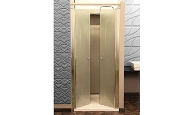 HOME DELUXE Dusch-Pendeltür »Lavea«, BxH: 80 x 195 cm, Milchglas kaufen