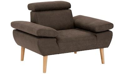 Premium collection by Home affaire Sessel »Trapino«, Mit Kopf- und Armteilverstellung,... kaufen
