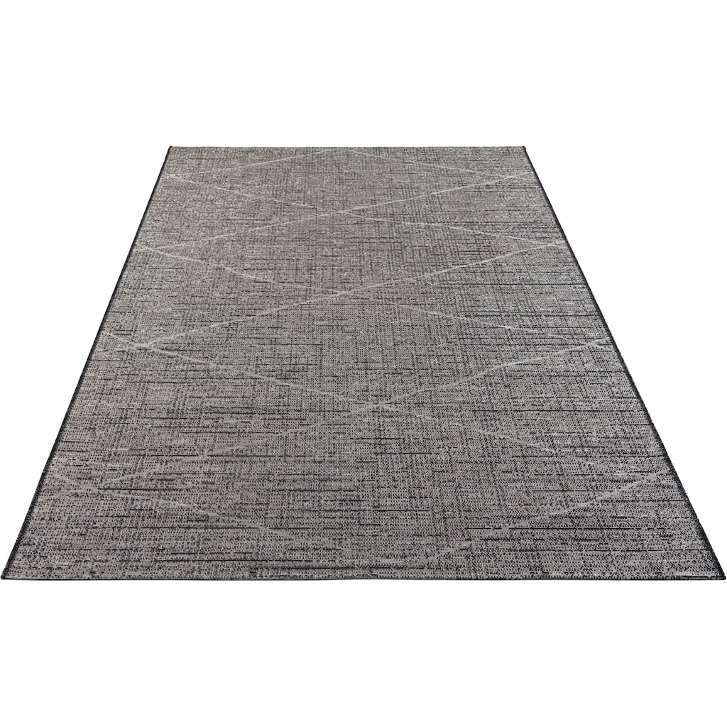 ELLE Decor Teppich »Blois«, rechteckig, 3 mm Höhe, In- und Outdoorgeeignet, Wohnzimmer