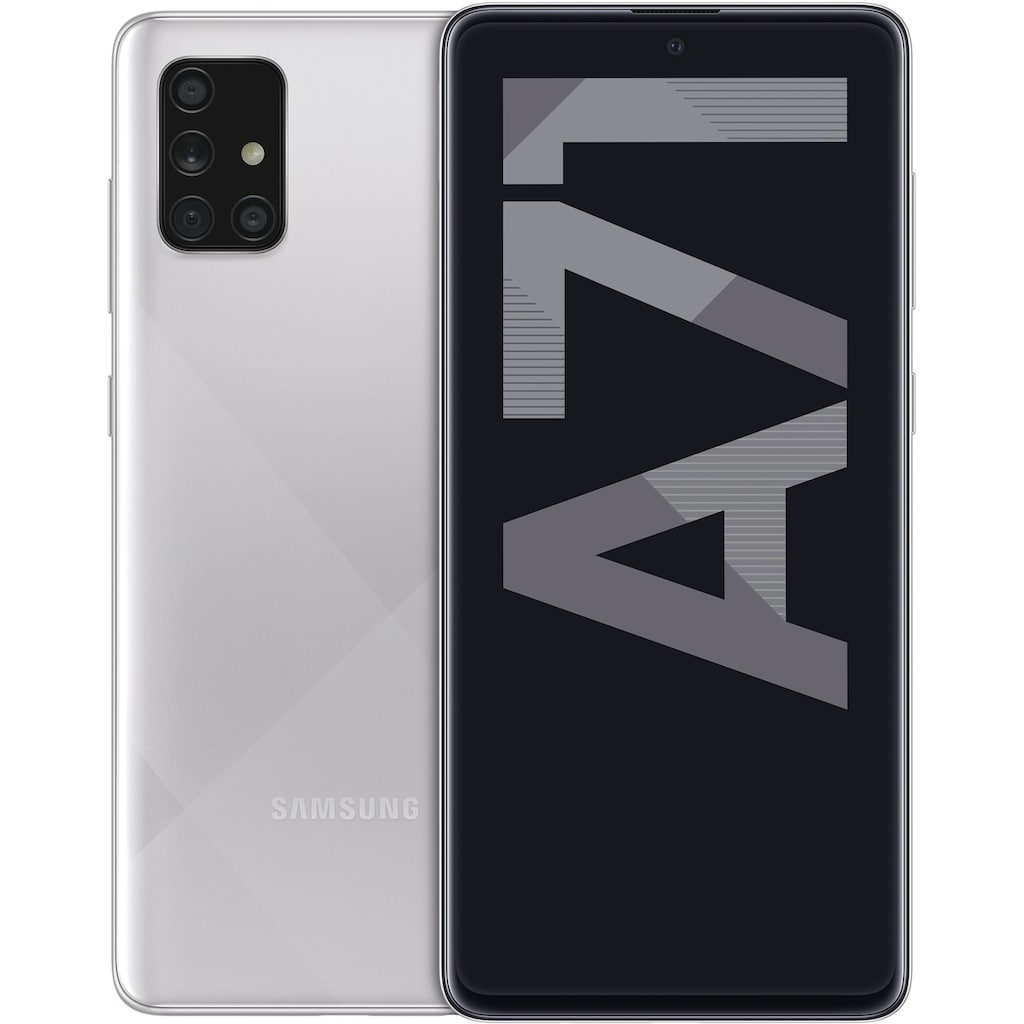 "Samsung Smartphone »Galaxy A71«, (16,95 cm/6,7 "" 128 GB Speicherplatz, 64 MP Kamera)"
