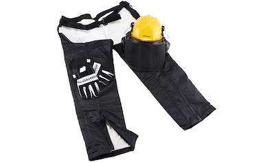 MCCULLOCH Set: Schnittschutz - Beinlinge »00057 - 76«, Schutzausrüstung mit Helm und Handschuhe kaufen